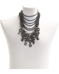 Night Market - Black Moka Necklace - Lyst