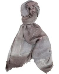 Richiami Sofora Hand Painted Cashmere And Silk Stole - Red