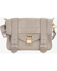 Proenza Schouler Mini Ps1 Leather Crossbody Bag - Multicolor
