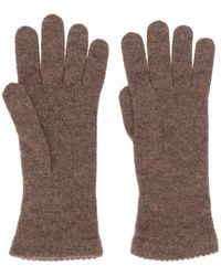 Blanca Vita Cashmere Gloves - Natural