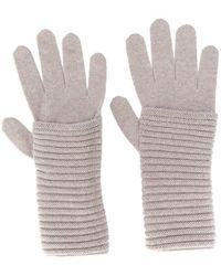 Blanca Vita Cashmere Gloves - Grey