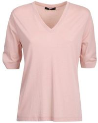 7 For All Mankind T-shirt di jersey - Rosa