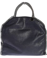 Stella McCartney - Faux Leather Falabella Fold Over Tote - Lyst