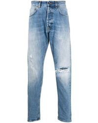 PRPS Jeans a vita bassa Thunderbird - Blu