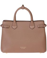 Burberry - Banner M Leather Bag - Lyst