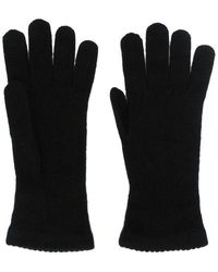 Blanca Vita Cashmere Gloves - Black