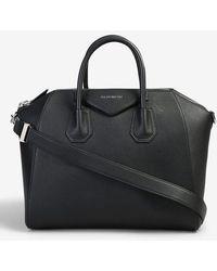 Givenchy Borsa Antigona media di pelle - Nero