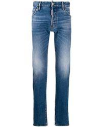 DSquared² Jeans Cool Guy di denim - Blu