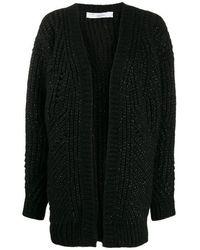 IRO Vesna Cardigan In Black Wool