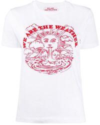 Stella McCartney Printed Detail T-shirt - White