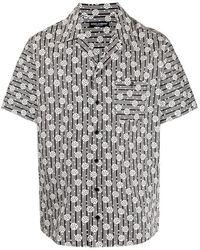 Dolce & Gabbana - Camicia di cotone con stampa - Lyst