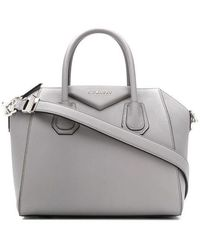 Givenchy Borsa Antigona Mini in pelle - Grigio