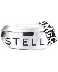 Stella McCartney Logo-strap Belt Bag - Metallic