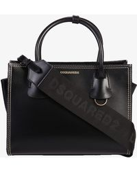 DSquared² - Brushed Leather Bag - Lyst