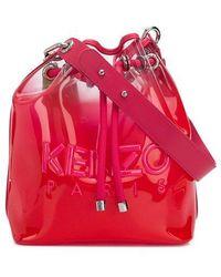 KENZO Kombo Bucket Bag - Pink