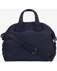Givenchy - Md Nightingale Grained Leather Bag - Lyst
