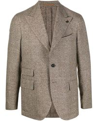 Gabriele Pasini Wool And Linen Jacket - Natural