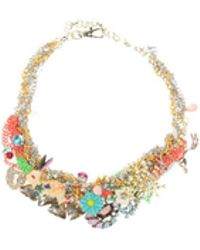 Night Market - Colourful Charms Necklace - Lyst