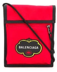 Balenciaga Explorer Canvas Bag - Red