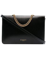 Givenchy Clutch di pelle - Nero