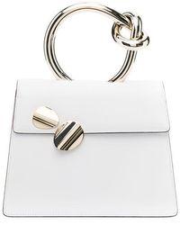Benedetta Bruzziches Leather Bag - White