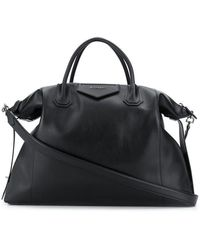 Givenchy Borsa Antigona Soft grande di pelle - Nero