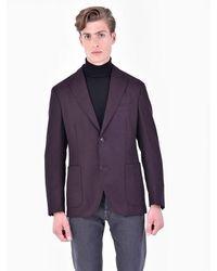 Boglioli Giacca di lana vergine - Marrone
