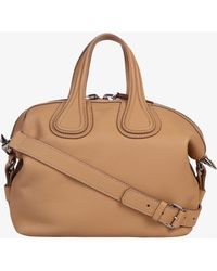 Givenchy - Sm Nightingale Grained Leather Bag - Lyst