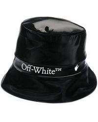 Off-White c/o Virgil Abloh Nylon Bucket Hat - Black