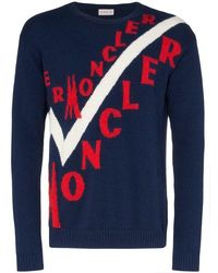 Moncler - Virgin Wool And Cashmere Sweater - Lyst