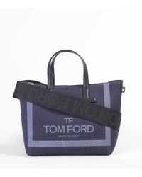 Tom Ford - Cotton Canvas Tote Bag - Lyst