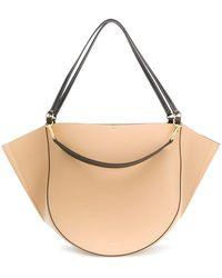 Wandler Mia Leather Bag - Brown