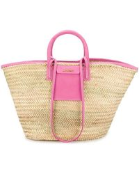 Jacquemus Soleil Panier Tote Bag - Pink