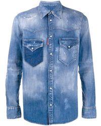 DSquared² Camicia denim - Blu