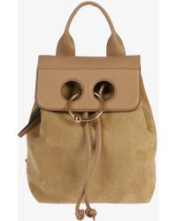 J.W.Anderson - Suede Leather Backpack - Lyst