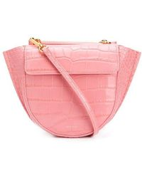 Wandler Hortensia Leather Bag - Pink