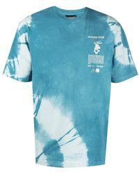 Mauna Kea - T-shirt di cotone con stampa tie dye - Lyst