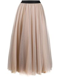 Blanca Vita Tulle Skirt - Pink