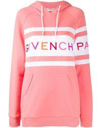 Givenchy Felpa con ricamo - Rosa