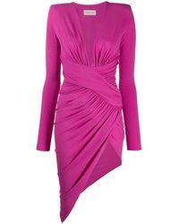 Alexandre Vauthier Viscose Dress - Pink