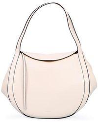 Wandler Lin Leather Bag - White