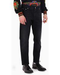 Dolce & Gabbana Jeans di denim - Nero