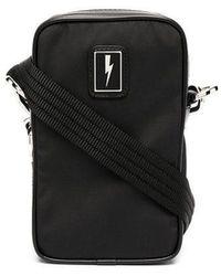 Neil Barrett Nylon Bag - Black