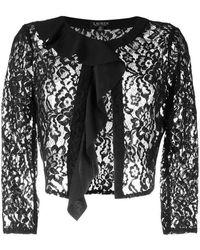 Lauren by Ralph Lauren Beldana Cropped Jacket - Black