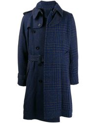 Sacai Cappotto di lana - Grigio