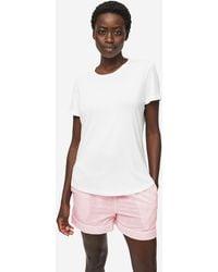 Derek Rose Lounge Shorts Nelson 74 Cotton Batiste - Pink