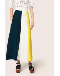 Derek Lam - Colorblocked Knit Skirt - Lyst