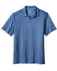Tommy Bahama Big & Tall Delray Polo Shirt - Blue