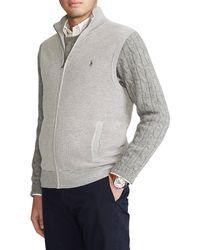 Polo Ralph Lauren - Big & Tall Full-zip Pima Cotton Vest - Lyst