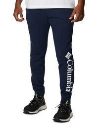 Columbia Big & Tall Csc Logo Fleece Sweatpants - Blue